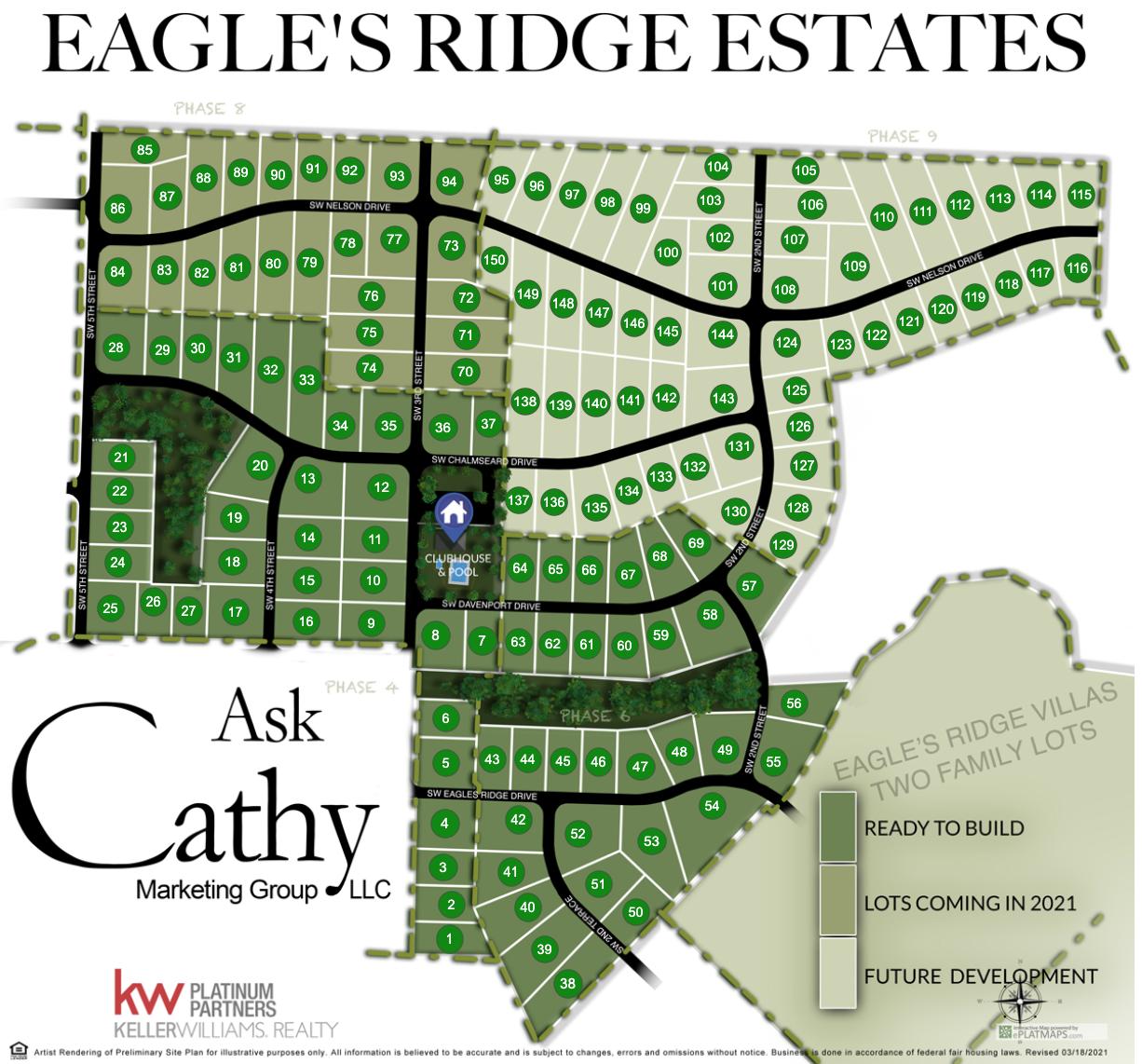 Artist Rendering Portfolio Eagles Ridge Cathy